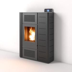Stufa a pellet NIKE 12 kW Bioecotermo