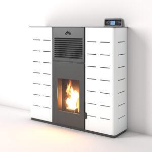 Stufa a pellet MYA 15 kW Bioecotermo