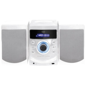 Mini HiFi CD Radio PLL USB TREVI HCX 1050 S Bianco