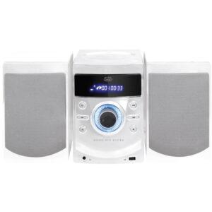 Mini HiFi CD Radio PLL USB TREVI HCX 1050 S Bianco