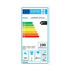 ELECTROLUX Lavatrice Standard 8 Kg EW2F68204F