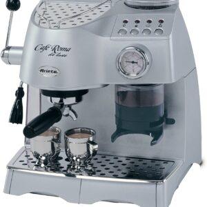 Macchina Caffè Espresso Ariete Cafè Roma DeLuxe Silver