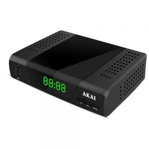 Decoder Digitale Terrestre DVB-T2 HEVC AKAI ZAP26510K