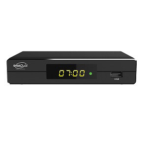 Decoder Digitale Terrestre DVB-T2 HEVC Digiquest MX5